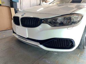 BMW M4 パートラッピング