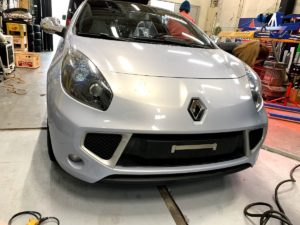 RENAULT Wind  ラッピング施工