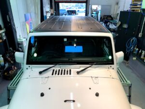 Jeep Wrangler ラッピング施工