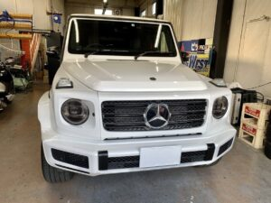 Mercedes Benz G-class  ラッピング施工