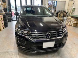 Volkswagen T-Roc  後付けシートヒーター施工