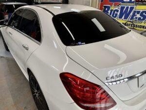 Mercedes Benz C450 カーフィルム施工