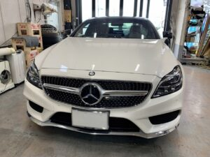 Mercedes Benz CLS ラッピング施工