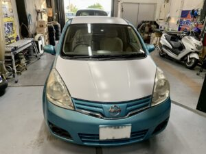 NISSAN NOTE  ラッピング施工